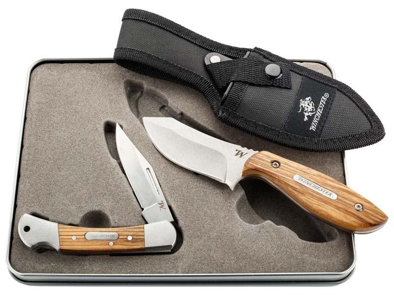 Winchester Messer-Set Taschenmesser Jagdmesser LASSO Barrens
